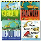 Dig Dump and Build Board Books Set of 4