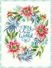 Joy To The World digital Panel Cotton quilt fabric Packaged Panel 56x74