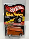 HOT WHEELS Real Riders Series 6 VW Drag Bus Orange with Flames 6341 of 11000