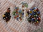 Vintage glass marbles 119 total Different kinds Some unusual Pre 1970