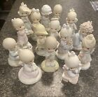 Precious Moments Figuring Lot Of 14 No Boxes