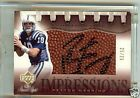 Colts Broncos Peyton Manning Sweet Spot Impressions Gold Autograph Auto 25 25