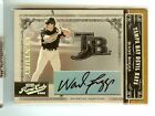 Rays Wade Boggs 2005 Playoff Prime Cuts Gold Century Autograph Auto 10 10