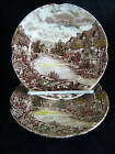 Johnson Bros Olde English Countryside 2 B & B Plates