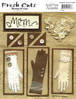 FRESH CUTS Rebecca Sower Designs JUMBO Size 30+Variety SCRAPBOOKING CUT OUTS OOP