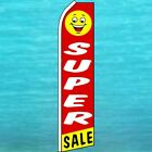 SUPER SALE Advertising Feather Swooper Bow Banner Flag