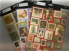 PEBBLES Assorted CARDSTOCK STICKER Sheets Choice STAMPS Christmas Water Fun