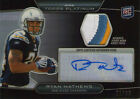 RYAN MATHEWS 2010 Topps Platinum RC AUTO JERSEY 99 Chargers Fresno State