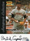Giants Orlando Cepeda Fleer Sports Illustrated Greats of the Game Autograph Auto