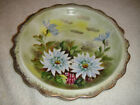 Vintage Arnart 5TH Ave. Hand Painted Plate 2062-AMAZING-Floral Painted Plate