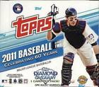 2011 Topps Series 2 Baseball Jumbo Hobby 2 Box Lot