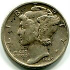 1945 ★★★ VF/EF MERCURY/WINGED LIBERTY DIME AS IN PICTURES ★★★ 90% SILVER COIN