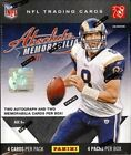 2011 Panini Absolute Memorabilia Football Hobby 3 box Lot Colin Kaepernick