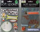 SOFT SPOKEN Assorted STICKERS 3D Choice MAMBI Me  My Big Ideas HOLIDAYS  more