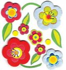 Jolees Boutique Stickers Fun Flowers 839