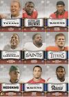2011 Topps Rising Rookies 9 Card Rookie Lot TJ Yates Near Mint Condition