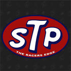 STP - The Racers Edge - Tuning Sticker, Auto Fun Aufkleber, Racing Oil