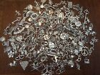 GRaB BaG LoT Of 100 MiXeD ThEMe STyLe SiLvER ChArMs PeNdAnTs FRee USA SHiPPiNg