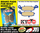 FRONT DISC BRAKE PADS SUZUKI TU250 GY GBK1 Grass Tracker / Big Boy NJ47A (2000)