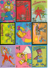 1993 Skybox The simpsons Series 1 Wiggle Card Full Set (9)