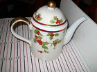 Fitz & Floyd Christmas Holly Coffee Pot
