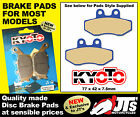 FRONT SET DISC PADS BRAKE PADS TO SUIT AJP PR4 Supermotard 125 / 125cc (04-09)