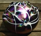 FANTASTIC SIGNED TERRY CRIDER 1986 ART GLASS PAPERWEIGHT!  WOW!