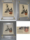 Michael Jordan Rookie 1986 Authentic US Lincoln coin basketball card Insert