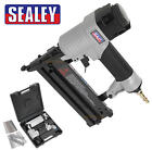 Sealey Air Nail/Nailer & Staple/Stapler Gun 18 Gauge 50mm Capacity + Case SA792