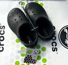 CROCS BOUNDLESS CLASSIC CAYMAN MAMMOTH BLITZEN CLOG SHOE Black Toddler C 8 9 NWT