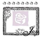 Clear Stamp 531270 JOY  Prima Flowers comes with 8 self adhesive crystals