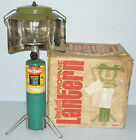 Vintage BERNZ O MATIC TX 007 PORTA-LIGHT PROPANE SINGLE MANTEL CAMP LANTERN