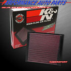 K&N 33-2966 Hi-Flow Air Intake Drop in Filter for Chevrolet Buick *See Detail*