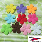 U Pick Wholesale 50 500 Pcs 1 3 8 Padded Felt Spring Flower Appliques F3100