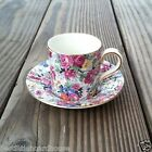 Vintage Old LORD NELSON MARINA CHINTZ Floral Roses Flower Cup Saucer Tea Set