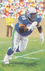 CORTEZ KENNEDY UNSIGNED 2012 GOAL LINE ART CARD SEAHAWKS