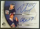 05-06 SP AUTHENTIC SPA RICK NASH GILBERT BRULE SIGN OF TIMES SOTT DUAL AUTO