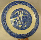 Vintage Willow Ware by Royal China Decorative Plate