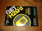 H2O PREPAID WIRELESS NANO CUT FOR SAME SMART ATT PHONE AND IPHONE5