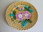 Beautiful P.V France French Majolica  Plate 8 1/4