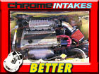 CF BLACK RED 90 93 GEO STORM ISUZU IMPULSE 16 16L 18 18L I4 AIR INTAKE KIT
