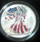 US Collector Coin 1999 American Eagle Silver Dollar Painted