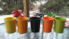 HOMER LAUGHLIN FIESTA UTENSIL CROCK tangerine orange NEW