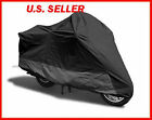 Motorcycle Cover kawasaki concours 14 abs all black FREE SHIPPING  c6171n2