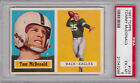 1957 Topps - #124 - Tommy McDonald - PSA 6 - 21047288 - Rookie Hall of Fame