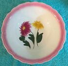 VINTAGE BLUE RIDGE POTTERY/SOUTHERN POTTERIES-GYPSY FLOWER- ROUND VEGETABLE BOWL
