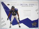 2003 LEAF ROOKIES AND STARS INITIAL STEPS TERRELL SUGGS GAME USED SHOE BOX 106
