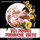 Francesco De Masi: Vizi Privati, Pubbliche Virtu (CD)