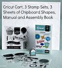 Close to My Heart CRICUT ARTISTE COLLECTION Cartridge 3 Stamp Sets 3 Chipboard