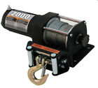 Champion Power 2000 ATV Utility Winch Electric 12V Super Design 2000lb Capacity